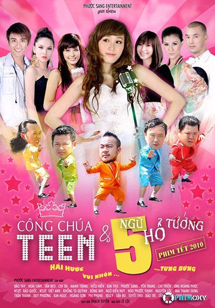 Công chúa teen và ngũ hổ tướng (2010) poster
