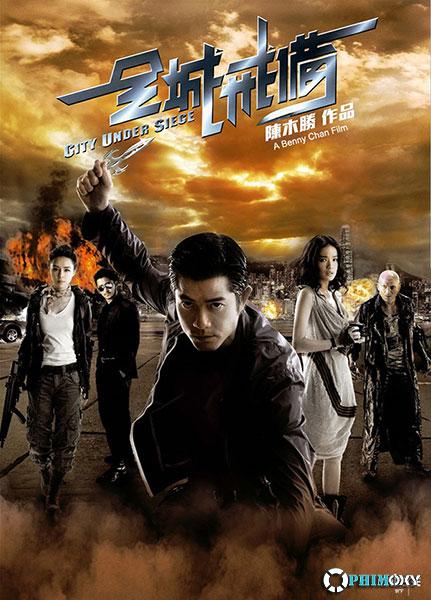 Toàn thành giới bị (City Under Siege) 2010 poster