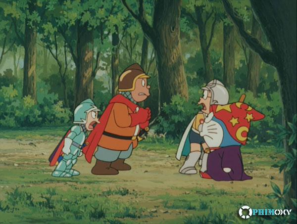 Doraemon: Nobita và ba chàng hiệp sĩ mộng mơ 1994 - 1