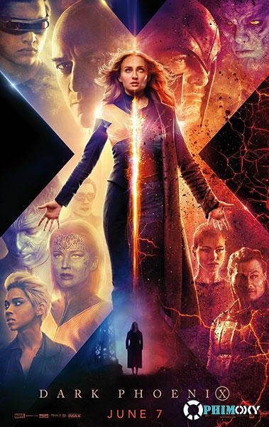 Dị Nhân 8: Phượng Hoàng Bóng Tối (X-Men: Dark Phoenix) 2019 poster