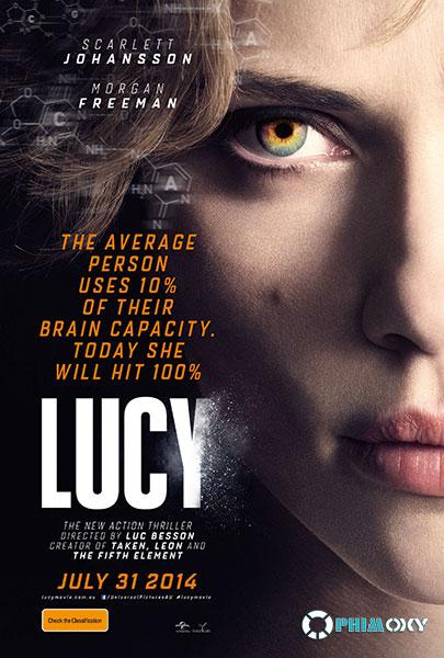 Lucy Siêu Phàm (Lucy) 2014 poster